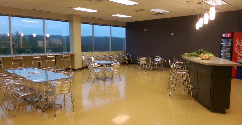 Painting a commercial break room in Buckeye, AZ