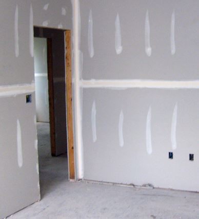 Painting new drywall as installed in Buckeye, AZ