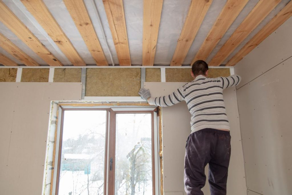 Installing drywall for interior residential painting in Buckeye, AZ
