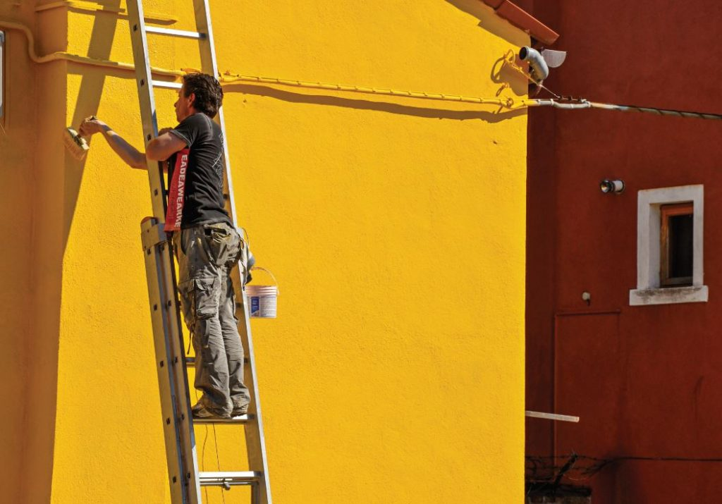 Yellow House Residential Painting in Buckeye, AZ