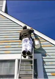 Painting and Restoring Exterior Residential House Siding